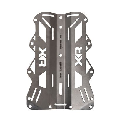Slika Backplate Stainless Steel 3 mm - XR Line