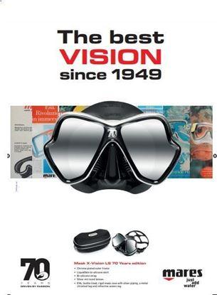Slika Maska X-VISION Limited Edition Mares 70th Year